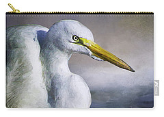 Great Egret Carry-all Pouch