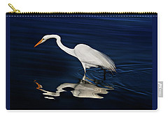 Great Egret-self Reflections Carry-all Pouch
