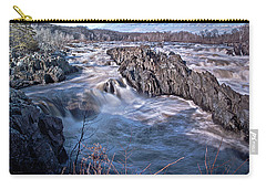 Carry-all Pouch featuring the photograph Great Falls Virginia by Suzanne Stout