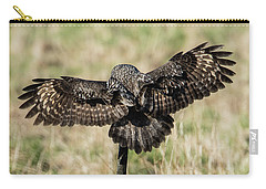 Great Grey's Back Carry-all Pouch by Torbjorn Swenelius