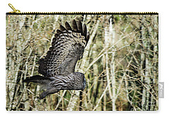 Great Grey's Flight Carry-all Pouch by Torbjorn Swenelius