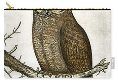 Great Horned Owl Carry-all Pouch by Charles Harden
