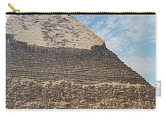 Carry-all Pouch featuring the photograph Great Pyramid Of Giza by Silvia Bruno