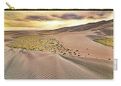 Great Sand Dunes Sunset - Colorado - Landscape Carry-all Pouch by Jason Politte