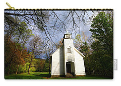 Great Smoky Mountains Spring Storms Over Palmer Chapel  Carry-all Pouch