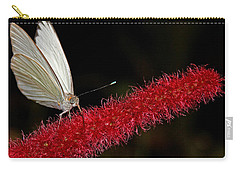 Carry-all Pouch featuring the photograph Great Southern White by Judy Vincent