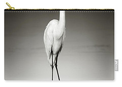 Great White Egret Carry-All Pouches