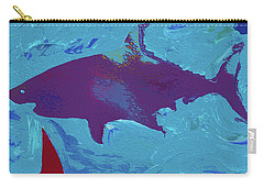 Great White Shark Carry-all Pouch by Robert Margetts