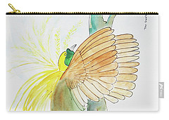 Greater Bird Of Paradise Carry-all Pouch