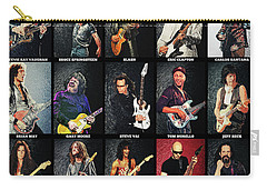 Greatest Guitarists Of All Time Carry-all Pouch
