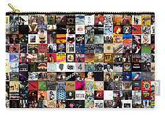 Greatest Rock Albums Of All Time Carry-all Pouch