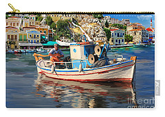 Greece Fisherman Carry-all Pouch