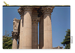 Carry-all Pouch featuring the photograph Greek Architecture by Ivete Basso Photography