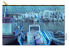 Greek Island House Carry-all Pouch by Colette V Hera Guggenheim