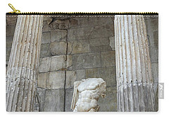 Carry-all Pouch featuring the photograph Greek Statue by Patricia Hofmeester