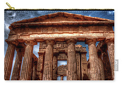 Temple Of Concord  Carry-all Pouch by Patrick Boening