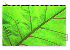 Green Abstract No. 5 Carry-all Pouch