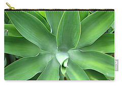 Green Agave Leaves Carry-all Pouch