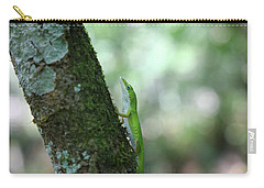 Green Anole Climbing Carry-all Pouch