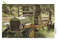 Green Antique Mack Carry-all Pouch