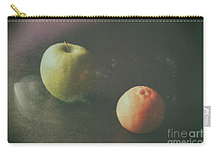 Green Apple And Tangerine Carry-all Pouch