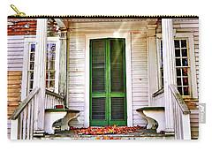 Green Autumn Door Carry-all Pouch