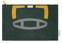 Green Bay Packers Vintage Art Carry-all Pouch