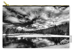 Carry-all Pouch featuring the photograph Green Bridge Solitude by David Patterson