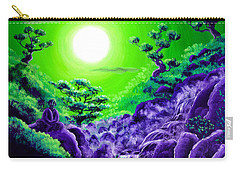 Green Buddha Meditation Carry-all Pouch