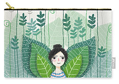 Green Carry-all Pouch by Carolina Parada