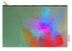 Carry-all Pouch featuring the mixed media Green Day by Eduardo Tavares
