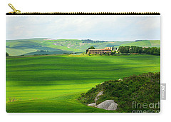 Green Escape In Tuscany Carry-all Pouch