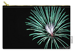 Green Explosion Carry-all Pouch by Suzanne Luft