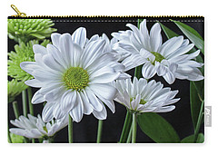 Carry-all Pouch featuring the photograph Green Eyed Daisy by Bonnie Willis