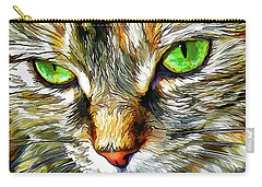 Green-eyed Monster Carry-all Pouch