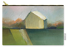Carry-all Pouch featuring the painting Green Field by Michelle Abrams