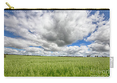 Green Fields 2 Carry-all Pouch by Douglas Barnard