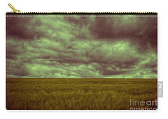 Green Fields 3 Carry-all Pouch by Douglas Barnard