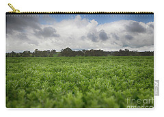 Green Fields 4 Carry-all Pouch by Douglas Barnard