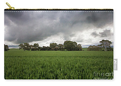Green Fields 5 Carry-all Pouch by Douglas Barnard