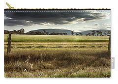 Carry-all Pouch featuring the photograph Green Fields 6 by Douglas Barnard