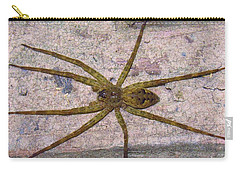 Green Fishing Spider Carry-all Pouch
