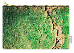 Green Flaking Brickwork Carry-all Pouch