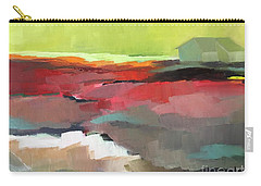 Carry-all Pouch featuring the painting Green Flash by Michelle Abrams