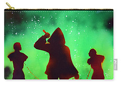 Green Fog And Stars Carry-all Pouch