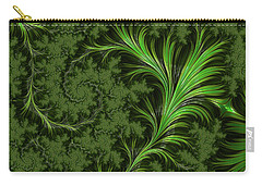 Green Fronds Carry-all Pouch