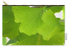 Green Ginkgo Carry-all Pouch