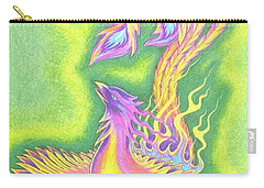 Green Gold Phoenix Carry-all Pouch