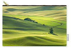 Carry-all Pouch featuring the photograph Green Green Grass Of Home by Patricia Davidson