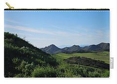 Carry-all Pouch featuring the photograph Green Hills Landscape by Matt Harang